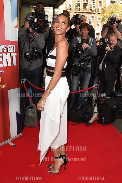 Alesha Dixon at the launch for Britains Got Talent 2015, Mayfair Hotel, London. 10/04/2015 Picture by: Steve Vas / Featureflash