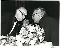 Le maire Jean Drapeau, 1979<br /> <br /> PHOTO : agence quebec presse