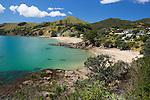 New Zealand, North Island, Coromandel Peninsula, near Colville: Waitete Bay, on the Hauraki Gulf | Neuseeland, Nordinsel, Coromandel Halbinsel, bei Colville: Waitete Bay, am Hauraki Gulf