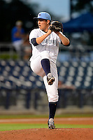 Charlotte Stone Crabs pitcher Jacob Partridge #30 during a game against the Palm Beach Cardinals at Charlotte Sports Park on April 7, 2013 in Port Charlotte, Florida.  Palm Beach defeated Charlotte 8-1.  (Mike Janes/Four Seam Images)