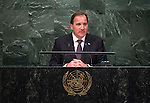 His Excellency Stefan Löfven, Prime Minister of the Kingdom of Sweden<br /> <br /> 6th plenary meeting High-level plenary meeting of the General Assembly (3rd meeting)