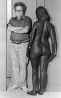 Artist George Segal 1979<br />