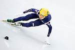 Suk Hee Shim of Korea during the Short Track Speed Skating as part of the 2014 Sochi Olympic Winter Games at Iceberg Skating Palace on February 10, 2014 in Sochi, Russia. Photo by Victor Fraile / Power Sport Images