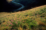 The Grande Ronde River, grasslands in Eastern Washington State, Asotin County, Pacific Northwest, USA,