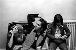 """Paul and Linda McCartney Wings Tour 1975.Jimmy McCulloch The photographs from this set were taken in 1975. I was on tour with them for a children's """"Fact Book"""". This book was called, The Facts about a Pop Group Featuring Wings. Introduced by Paul McCartney, published by G.Whizzard. They had recently recorded albums, Wildlife, Red Rose Speedway, Band on the Run and Venus and Mars. I believe it was the English leg of Wings Over the World tour. But as I recall they were promoting,  Band on the Run and Venus and Mars in particular."""
