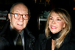 Neil Simon & Elaine Joyce attending  the Opening Night after party for the New David Mamet Play NOVEMBER at Restaurant Bond 45 in New York City.<br />January 17, 2008