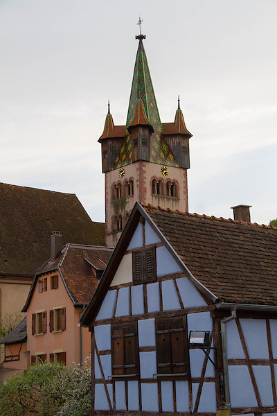 Chatenois, Alsace region, France