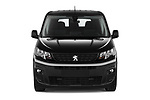 Car photography straight front view of a 2020 Peugeot Partner Premium Long 4 Door Car van
