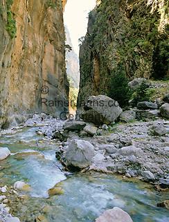 Greece, Crete, Samaria Gorge | Griechenland, Kreta, Samaria-Schlucht..