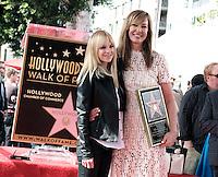 Allison Janney + Anna Faris @ her Walk of Fame ceremony held @ 6100 Hollywood blvd. October 17, 2016