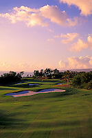 No. 17 on the Mauna Kea golf course, the architect of which is Robert Trent Jones II.  The course, which is on the Big Island, was built in 1965