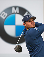 Tyrrell Hatton (England) during the BMW PGA PRO-AM GOLF at Wentworth Drive, Virginia Water, England on 23 May 2018. Photo by Andy Rowland.