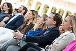 Pablo Casado, Isabel Diaz Ayuso, Jose Luis Martinez Almeida, Ana Pastor, Adolfo Suarez Illana, in the presentation of the Partido Popular program<br />  October 13, 2019. <br /> (ALTERPHOTOS/David Jar)