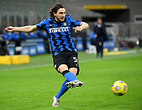 Football Soccer: Tim Cup Quarter Finals InternazionaleMIlan vs Milan, Giuseppe Meazza Stadium (San Siro) Milan, on January 26, 2021.<br /> Inter's Matteo Darmian in action during the ItalianTim Cup  football match between Inter  and Milan at the Giuseppe Meazza stadium in Milan, January 26, 2021.<br /> UPDATE IMAGES PRESS/Isabella Bonotto