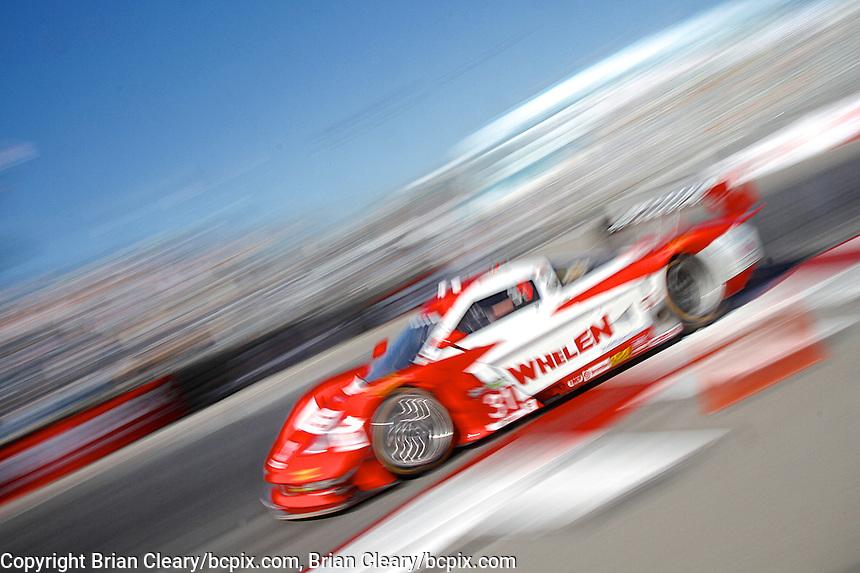 #31 Chevrolet Corvette DP of Boris Said and Eric Curran, Long Beach Grand Prix, Long Beach, CA, April 2014.  (Photo by Brian Cleary/ www.bcpix.com )