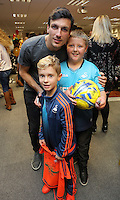 Pictured: Jack Cork Tuesday 06 December 2016<br />Re: Swansea City FC Christmas Party at the Liberty Stadium, Wales, UK