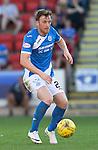 St Johnstone FC… Season 2016-17<br />Liam Craig<br />Picture by Graeme Hart.<br />Copyright Perthshire Picture Agency<br />Tel: 01738 623350  Mobile: 07990 594431
