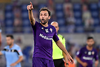 Milan Badelj of Fiorentina reacts during the Serie A football match between SS Lazio and ACF Fiorentina at stadio Olimpico in Roma ( Italy ), June 27th, 2020. Play resumes behind closed doors following the outbreak of the coronavirus disease. Photo Antonietta Baldassarre / Insidefoto