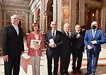 """MARTA CARTABIA, LUCIANO VIOLANTE E ALBERTO CASTELVECCHI<br /> PRESENTAZIONE LIBRO """"INSEGNA CREONTE"""" DI LUCIANO VIOLANTE<br /> CHIESA DI SANT'IGNAZIO DI LOYOLA  GIUGNO 2021"""