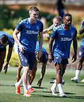 24.06.2019 Rangers training in Algarve: Jake Hastie and Jermain Defoe
