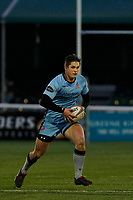 Tom Griffiths of London Scottish during the Greene King IPA Championship match between Ealing Trailfinders and London Scottish Football Club at Castle Bar , West Ealing , England  on 19 January 2019. Photo by Carlton Myrie/PRiME Media Images