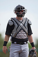 Chicago White Sox catcher Zach Collins (33) during an Instructional League game against the San Diego Padres on September 26, 2017 at Camelback Ranch in Glendale, Arizona. (Zachary Lucy/Four Seam Images)