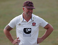Darren Stevens of Kent looks on during Kent CCC vs Sussex CCC, Bob Willis Trophy Cricket at The Spitfire Ground on 9th August 2020