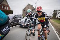 Belgian Champion Philippe Gilbert (BEL/Quickstep)<br /> <br /> 72nd Omloop Het Nieuwsblad 2017