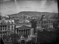 Montreal from Notre-Dame circa 1900