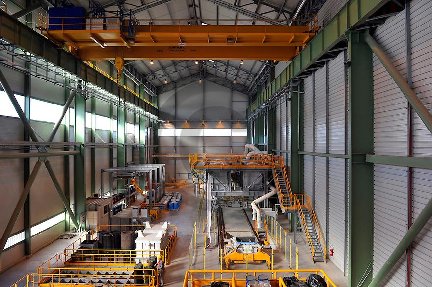 21/02/12 - LES ANCIZES - PUY DE DOME - FRANCE - Entreprise de siderurgie AUBERT et DUVAL. IV30 - Photo Jerome CHABANNE