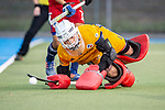 Mannheim, Germany, August 21: Pre-season test match between Mannheimer HC and KHC Leuven from Belgium. (Photo by Dirk Markgraf / www.265-images.com) ***