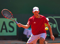 Austria, Kitzbühel, Juli 19, 2015, Tennis,  Davis Cup, forth match between Dominic Thiem (AUT) and Robin Haase (NED), pictured: Robin Haase<br /> Photo: Tennisimages/Henk Koster