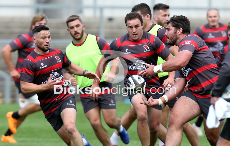 Friday 4th September 2020 | Ulster Captain's Run<br /> <br /> Tom O'Toole during Captain's Run ahead of the Guinness PRO14 Semi-Final between Edinburgh and Ulster at the BT Murrayfield Stadium Edinburgh, Scotland. Photo by John Dickson / Dicksondigital