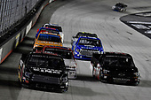 #00: Josh Bilicki, Reaume Brothers Racing, Toyota Tundra, #56: Timmy Hill, Hill Motorsports, Chevrolet Silverado