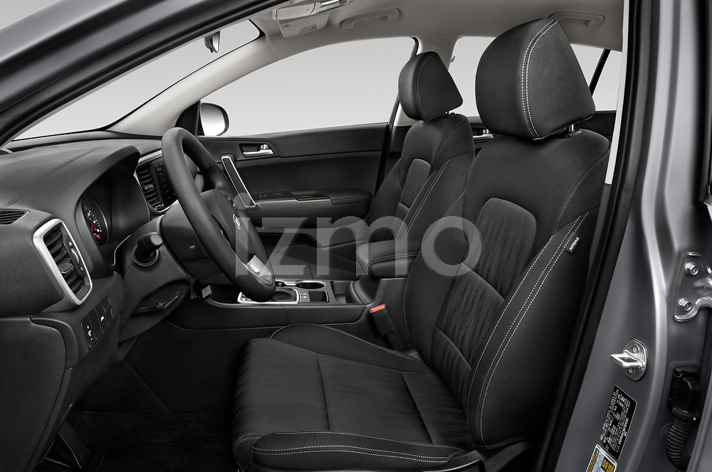 Front seat view of 2021 KIA Sportage LX 5 Door suv Front Seat  car photos