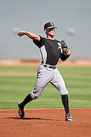 Chicago White Sox Zach Remillard (7) during an Instructional League game against the Cincinnati Reds on October 11, 2016 at the Cincinnati Reds Player Development Complex in Goodyear, Arizona.  (Mike Janes/Four Seam Images)