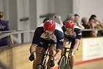 Team GB Track Cycling squad training at Wales International Velodrome before the start of the London 2012 Olympics..26.07.12.©Steve Pope
