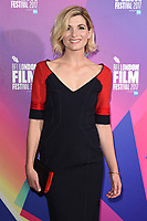 """Jodie Whittaker<br /> arriving for the London Film Festival 2017 screening of """"Journeyman"""" at Picturehouse Central, London<br /> <br /> <br /> ©Ash Knotek  D3333  12/10/2017"""