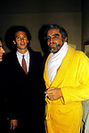 """VITTORIO GASSMAN CON ROBERTO FALCAO-  PREMIERE """"OTELLO""""  TEATRO QUIRINO 1982"""