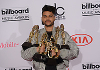 The Weeknd @ the 2016 Billboard music awards held @ the T-Mobile arena.<br /> May 22, 2016