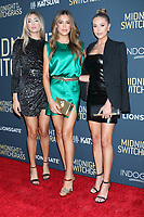 LOS ANGELES - JUL 19:  Scarlet Rose Stallone, Sistine Rose Stallone, Sophia Rose Stallone at Midnight in the Switchgrass Special Screening at Regal LA Live on July 19, 2021 in Los Angeles, CA