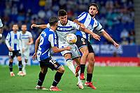 22nd September 2021: RCDE Stadium, Barcelona, Spain: La Liga Football, Espanyol versus Atletico Madrid; <br /> Manu Garcia of Deportivo Alaves