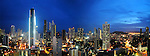 Ciudad de Panamá, Panamá / Panama city, Panama.<br /> <br /> Panorámica de 2 fotografías / Panoramic image of 2 photographs.<br /> <br /> Edición de 25 | Víctor Santamaría.