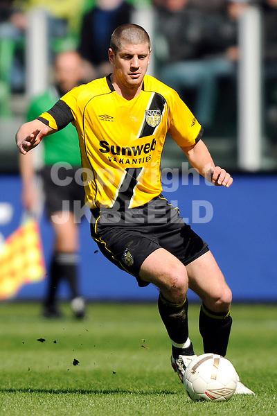voetbal fc groningen - nac erediivisie seizoen 2007-2008 06-04-2008 .rogier molhoek.fotograaf Jan Kanning