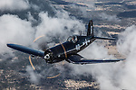 Chance-Vought F4U-7 Corsair of the Erickson Aircraft Collection.