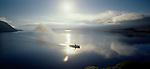 """The Steam Ship """"Earnslaw"""" on Lake Wakatipu Otago New Zealand."""