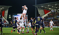 Friday 22nd November 2019   Ulster Rugby vs Clermont Auvergne<br /> <br /> Alan O'Connor during the Heineken Champions Cup Pool 3 Round 2 match between Ulster Rugby  and Clermont Auvergne at Kingspan Stadium, Ravenhill Park, Belfast, Northern Ireland. Photo by John Dickson/DICKSONDIGITAL