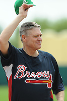 17 March 2009: Dale Murphy of the Atlanta Braves prior to a game against the New York Meta at the Braves' Spring Training camp at Disney's Wide World of Sports in Lake Buena Vista, Fla. Photo by:  Tom Priddy/Four Seam Images