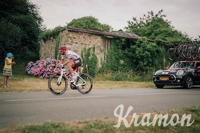 Julien Bernard (FRA/Trek-Segafredo)<br /> <br /> Stage 7: Fougères > Chartres (231km)<br /> <br /> 105th Tour de France 2018<br /> ©kramon