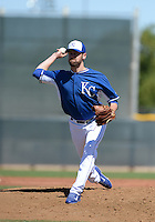 Kansas City Royals pitcher Louis Coleman (31) during an Instructional League game against the San Diego Padres on October 2, 2014 at Surprise Stadium Training Complex in Surprise, Arizona.  (Mike Janes/Four Seam Images)
